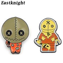 K313 Trick 'R Treat Horror Pins Metal Brooches and Pins Enamel Pin for Backpack / Bag Badge Brooch T-shirt Halloween Jewelry k313 trick r treat horror pins metal brooches and pins enamel pin for backpack bag badge brooch t shirt halloween jewelry