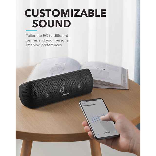 Anker Soundcore Motion+ Bluetooth Speaker with Hi-Res 30W Audio, Extended Bass and Treble, Wireless HiFi Portable Speaker 3