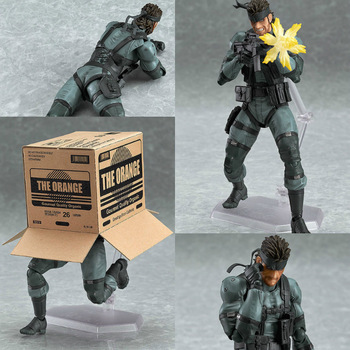 Figma 243 METAL GEAR SOLID 2: SONS OF LIBERTY 15cm Snake PVC Action Figure Collectible Model Toy 2