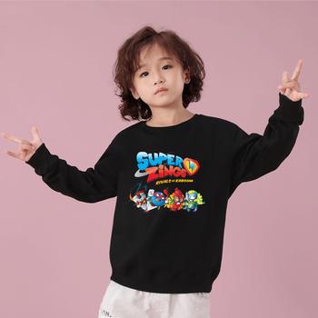 Na co dzień z dekoltem w kształcie litery #8222 o #8221 nowy gra dla dzieci Super Zings bluzy z kapturem kreskówki dla dzieci drukowane Superzings odzież sportowa dla dzieci chłopcy dla dziewczyn z kapturem sweter tanie i dobre opinie LISCN COTTON CN (pochodzenie) Na wiosnę jesień REGULAR Pełne Sweatshirts Swetry WOMEN Drukuj Z okrągłym kołnierzykiem