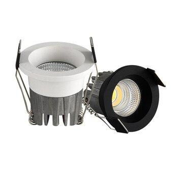 10 sztuk LED mini Downlight pod szafką światło punktowe 3W do sufitu lampa wpuszczana AC85-265V ściemniania lampy halogeny z kierowcą