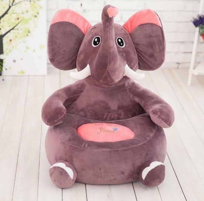 Детский диван, мягкая подушка в виде животного, мягкая игрушка, кукольные стулья для детского сада, напольная подушка, подушка для стула, под... - 6