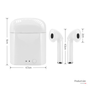Image 5 - 2020 i7S TWS Mini Wireless Bluetooth 5.0 Earphones Earbuds Sport Handsfree Headphones Headset With Charging Box for All Phones