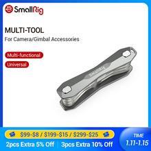Smallrig multi ferramenta para câmera e acessórios cardan conjunto de chave de fenda dobrável com chaves allen/phillips head Screwdrives 2432