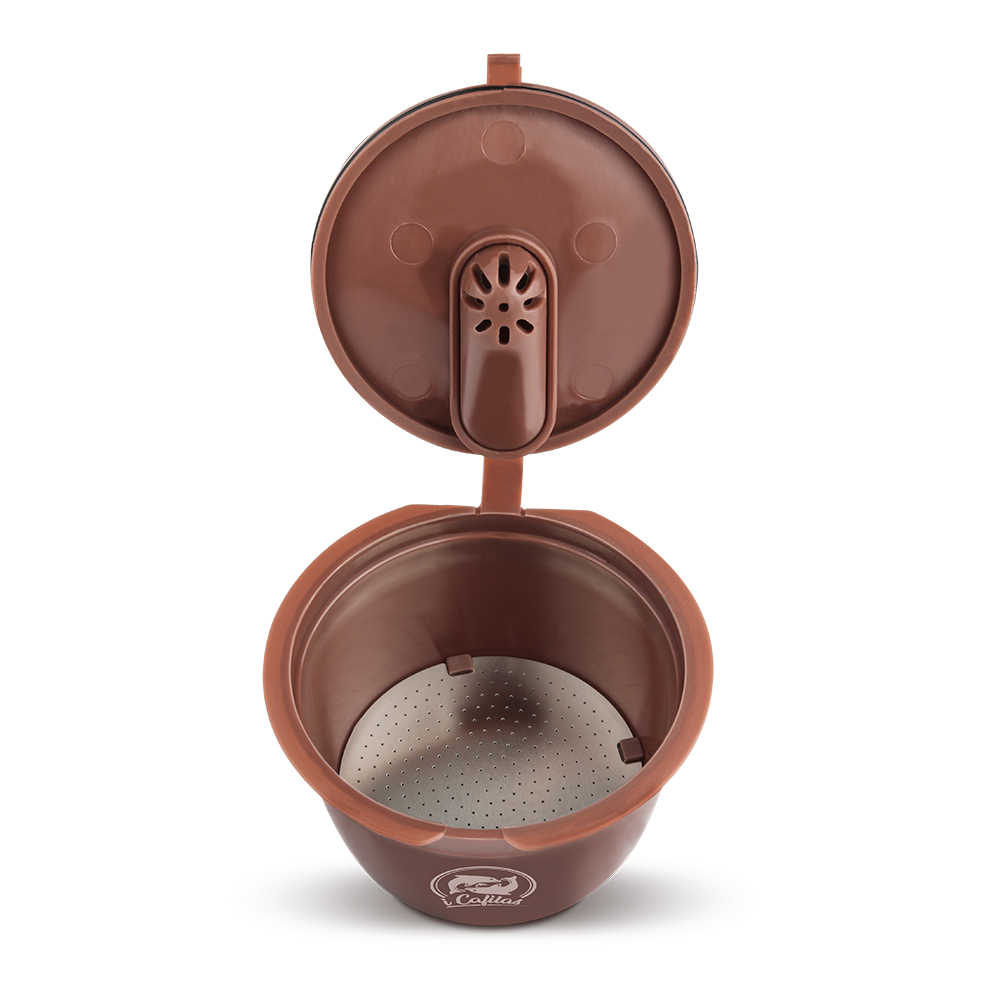 3pcs//packet 3rd Refillable For Dolce Gusto Coffee Capsule Machine Reusable