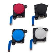 الأصلي ل التبديل لايت NS NX 3D التناظرية المقود Thumbstick استبدال ل التبديل الفرح يخدع تحكم عصا إصلاح