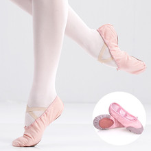 Children Girls Boys Ballet Dance Shoes Adult Women Men Ballet Canvas Ballet Dance Shoes Ballet Slippers with 9 Colors Size 22-44