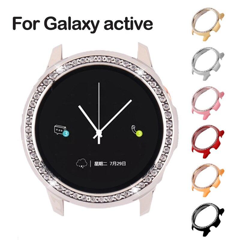 Чехол для часов с полным покрытием экрана для Samsung galaxy Watch 3 active 2 40 мм 44 мм, защитный бампер, HD защитный чехол для samsung