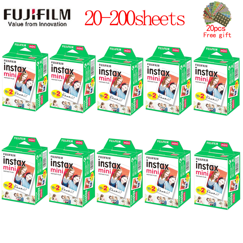 10-200 листов Fujifilm instax mini 11 9 пленка с белым краем и шириной пленки 3