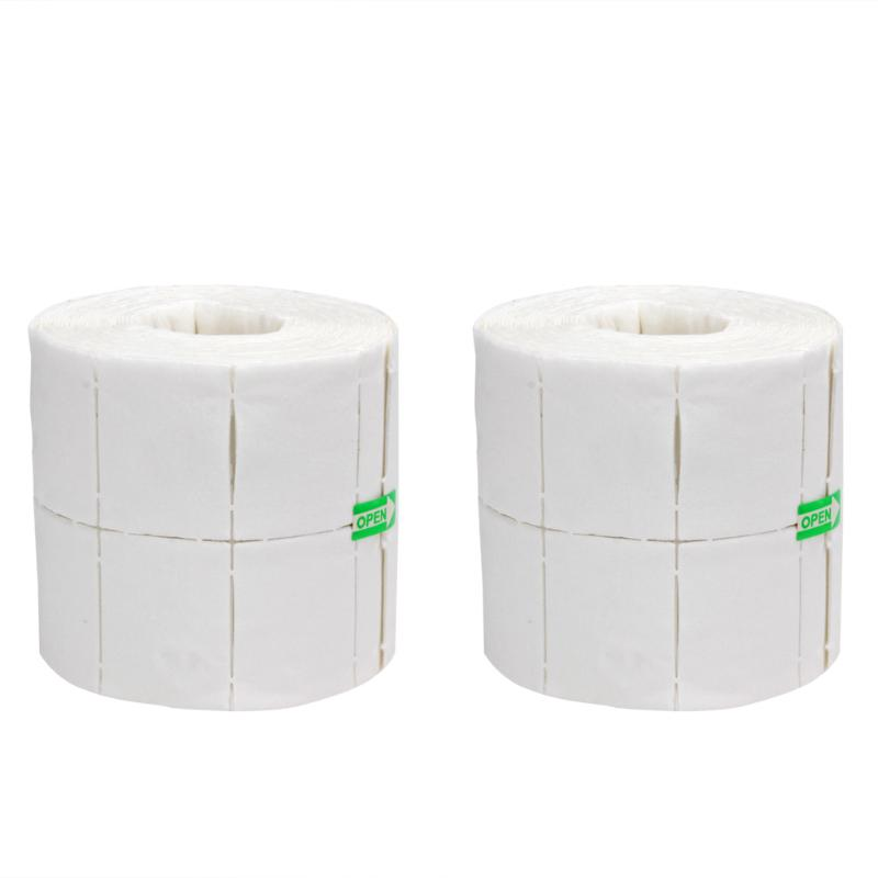 300/500pcs Gel Polish Remover Nail Wipe Cotton Pads Paper Polish Tips Nail Manicure Polish Remover Cleaner Paper Nali Tools hot