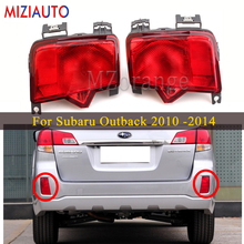 Rear brake light for Subaru Outback 2010 2011 2012 2013 2014 Rear Bumper Reflector Light Tail Stop Turn signal Lamp Fog new for vw polo 2010 2011 2012 2013 right side led tail light rear light 6r0945096