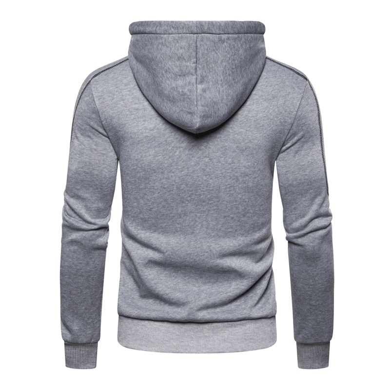 Two Piece Tracksuit Set for Men, Sportswear for Men, Hooded Jacket and Pants, Tracksuit, Men's Clothing,  Plus Size S-3XL 5