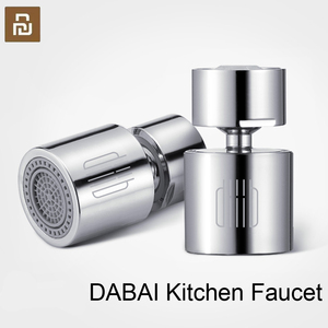 Image 1 - Youpin DABAI Kitchen Faucet Aerator Water Diffuser Bubbler Zinc alloy Water Saving Filter Head Nozzle Tap Connector Double Mode