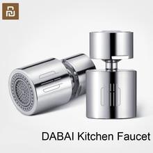 Youpin DABAI cuisine robinet aérateur diffuseur deau barboteur en alliage de Zinc économie deau tête de filtre buse robinet connecteur Double Mode