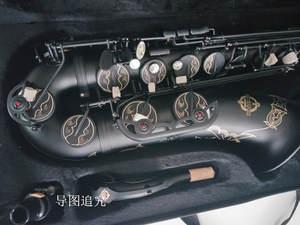 Tenor Saxophone Case Musical-Instrument Professional Black Matt Japan Suzuki with Playing