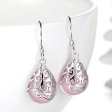 Fashion Earrings Metal Geometric For Women Hanging Dangle Drop Earring Modern Jewelry Birthday Gift