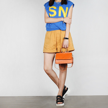 YIFANGZHE NEW Women Genuine Leather Handbag , High Fashion Messenger /Crossbody Shoulder Bags Roomy Phone/Wallet