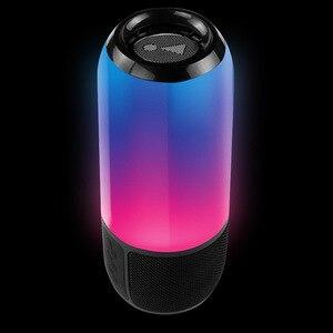Nuevo altavoz inalámbrico Bluetooth L5 con coloridas y coloridas Mini Subwoofer, altavoz Estéreo Portátil con Bluetooth, resistente al agua