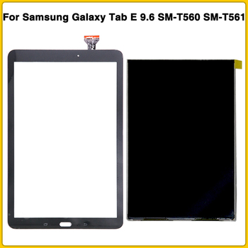 New T560 LCD Touch Panel For Samsung Galaxy Tab E 9.6 SM-T560 SM-T561 T561 LCD Display Touch Screen Digitizer Sensor Front Glass original 7 1 inch lcd screen e ink e book lb071ws1 rd02 for prs 950 prs 900 e book display screen panel