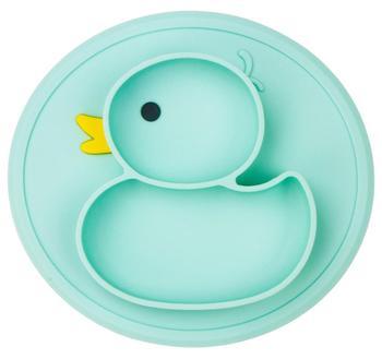 Qshare Baby Duck Dishes płyta silikonowa przyssawka antypoślizgowa Mini mata maluch podkładka dzieci dzieci żywność dla niemowląt miska dla zwierząt tanie i dobre opinie Silicone Nitrosamine darmo Ftalanów BPA za darmo Obiadowy Usługi płyta tacy Bduck plate Lfgb Ce ue cookware