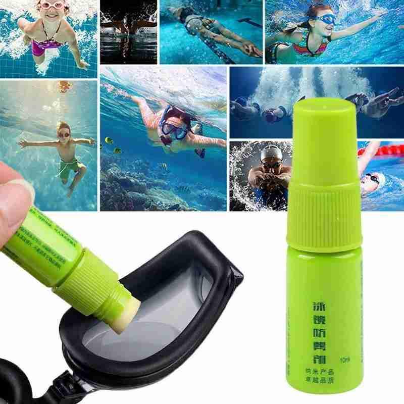 10ml Anti Fog Spray Diving Defogger Agent Antifogging Spray For Windshield Swimming Glass Diving Mask Cleaner