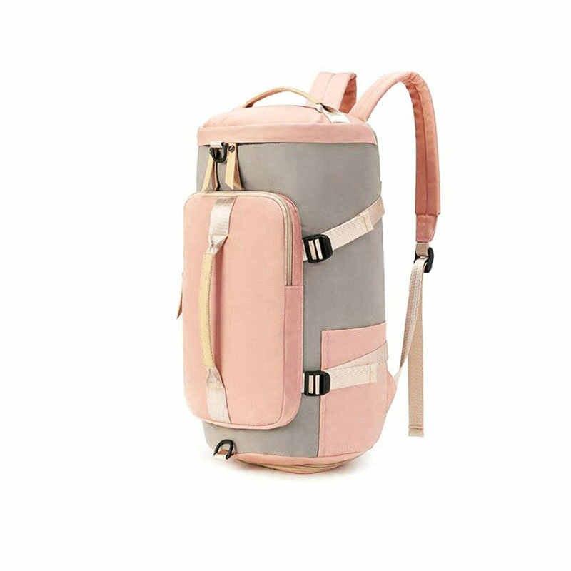 Gyn çanta kadın spor sırt çantası ile ayakkabı saklama çantası erkekler  Trainingl çuval de spor çantası dizüstü bilgisayar seyahat sırt çantası  öğrenci çantaları|Gym Bags| - AliExpress