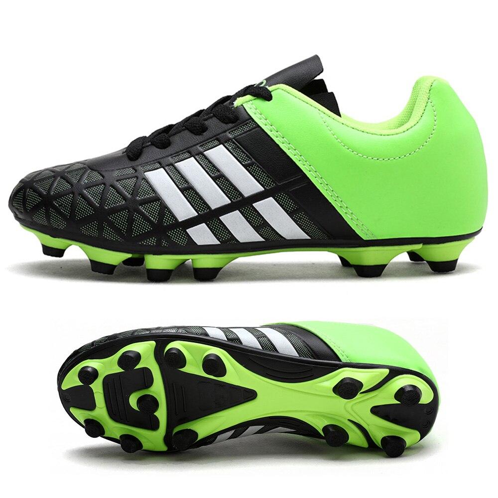 Outdoor Football Boots Men Sneakers Soccer Boots Turf Football Boots Kids Soccer Cleats AG/FG Spikes Training Sport Futsal Shoes 23