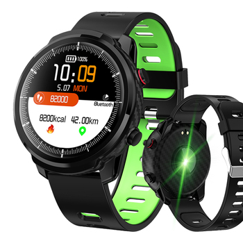 LIGE 2019 New Smart Watch Men IP68 Waterproof Sport Smartwatch Heart Rate Monitoring Weather Forecast Smart Band for IOS Android