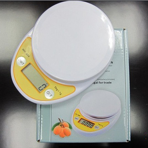 Image 5 - 5kg/1g Portable Digital Kitchen Scale,LED Electronic Food Diet Measuring Weight,Battery Operated Mini Cooking Balance