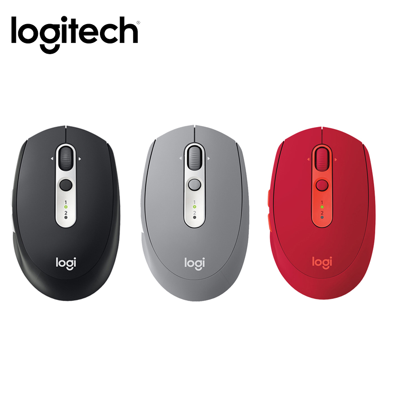 Logitech M585 Bluetooth Wireless Mouse Multi-Tasking Flow Curved Design Bluetooth Mouse Windows Mac Computer Novelty Mouse