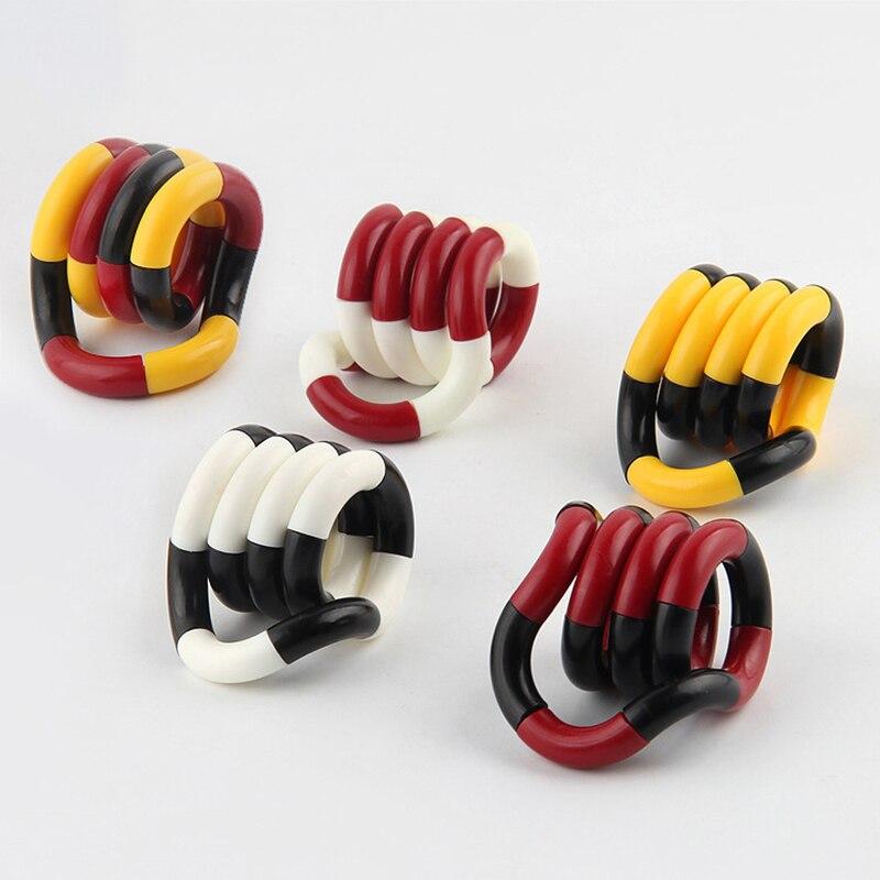Vent-Toys Decompression-Toy Fidget-Roller Twist-Finger Uaincube-Stress Torsion-Ring Relief img4