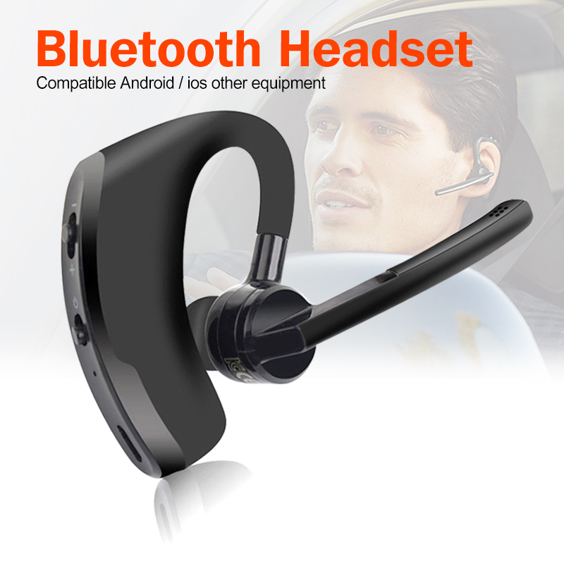 V8 Bluetooth Earphone Business Wireless Headset V9 Bluetooth Headphone Handsfree With Mic For Driving Car Wok For IPhone Samsung