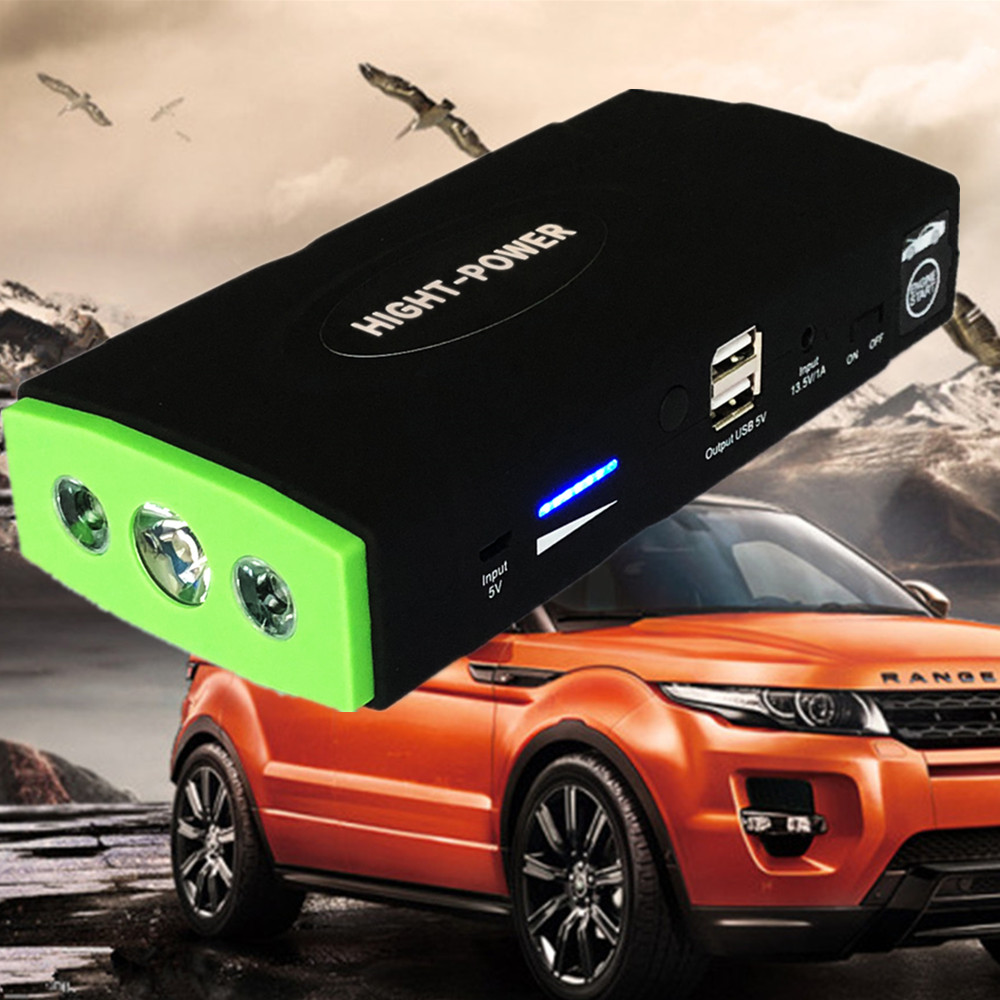 GKFLY Mini Car Jump Starter Power Bank 12V 600A Portable Starting Device Car Battery Booster Charger Petrol Diesel Car Starter