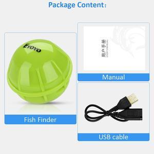 Image 5 - Eyoyo Drahtlose Fischerei Sounder Tragbare Echo Signalgeber für angeln Smart Bluetooth Sonar fisch finder tiefer sondeur peche