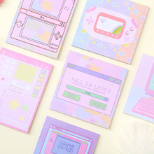 цены 5pcs/lot Creative Stationery Portable Computer Notebook Student Memo Message Book Wholesale Memo Pad