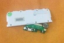 """Б/у оригинальная зарядная плата с USB разъемом + Громкий динамик для Leagoo M8 Pro MTK6737 Quad Core 5,7 """"HD Бесплатная доставка"""