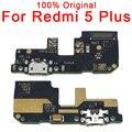Оригинальные запасные части для Xiaomi Redmi 5 Plus плата для зарядки USB разъем гибкий кабель для Redmi 5 Plus порт для зарядки PCB док-разъем