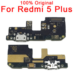 Original Spare Parts For Xiaomi Redmi 5 Plus Charge Board USB Plug Flex Cable For Redmi 5 Plus Charging Port PCB Dock Connector