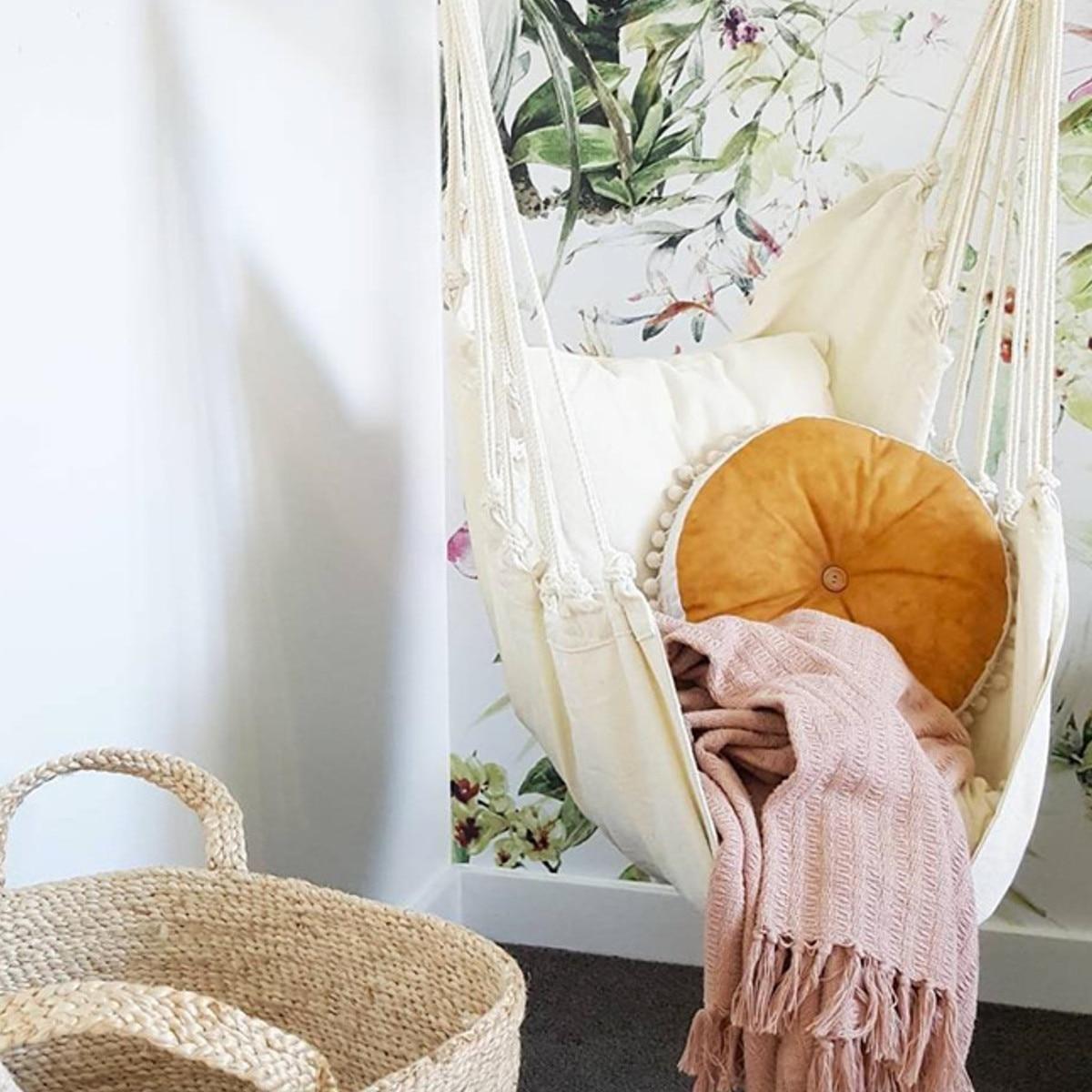 Nordic Style Deluxe Hammock Outdoor Indoor Garden Dormitory