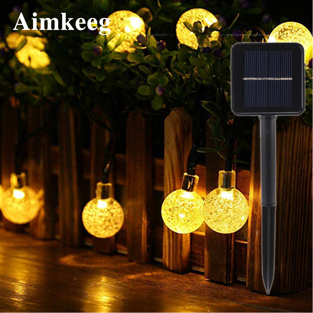 Outdoor Waterproof Solar String Lights