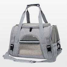 Cão portador sacos portátil pet gato cão mochila respirável gato transportadora saco companhia aérea aprovado transporte transporte transporte para gatos pequeno cão