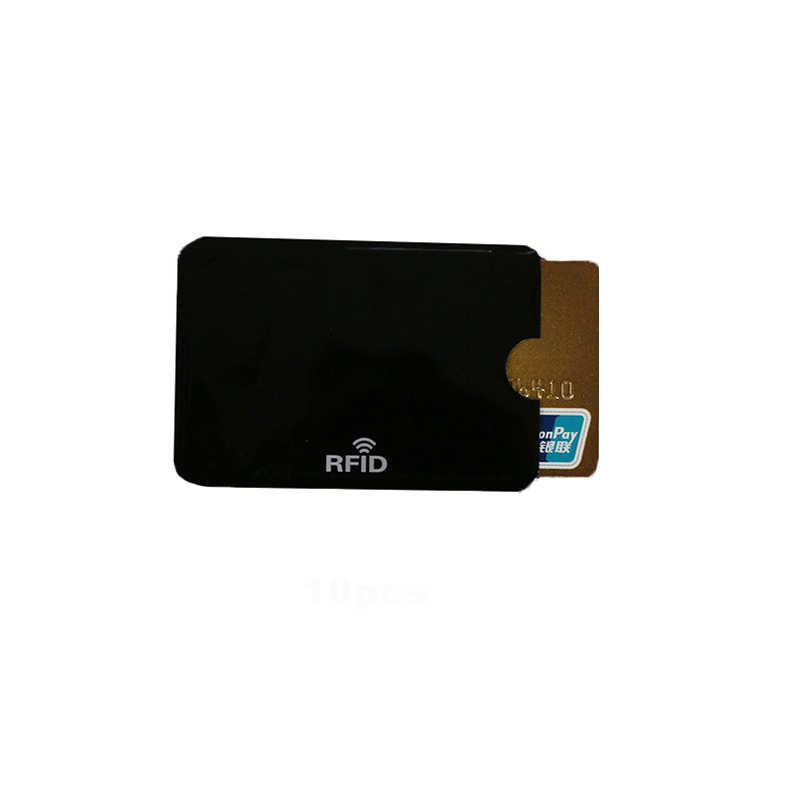 Anti Scan RFID Blocker Protector Colorful Credit Bank Card Holder NFC Shielding Cards Case Protection Pouch Case New BAG1037