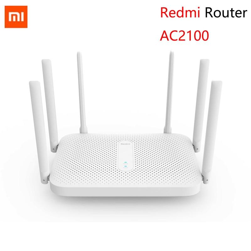 Маршрутизатор Xiaomi Redmi AC2100, 2,4 ГГц, 5,0 Мбит/с, 6 антенн