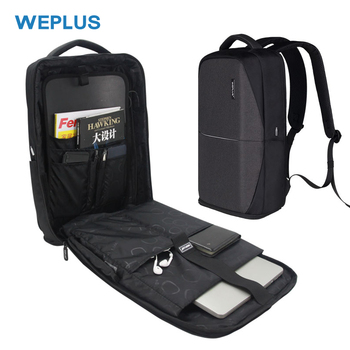 WEPLUS 15.6 inch Laptop Backpack Male Multifunction USB Charging Backpack Men Women Waterproof Travel Bagpack Mochila Anti Thief