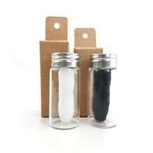 Floss-Spool Bamboo Toothpick Teeth-Flosser Eco-Friendly Dental 30m Wax Mint-Flavored