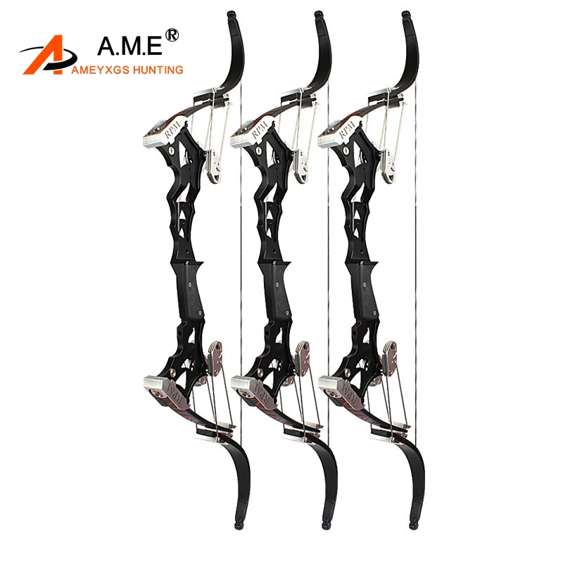 Archery NITIO Compound Bow Precision Steel Ball Bow Left/Right Hand Outdoor Shooting Hunting