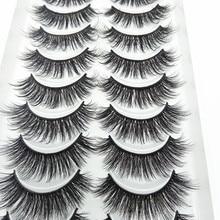 Wholesale Eyelashes Makeup Natural 3d QUXINHAO