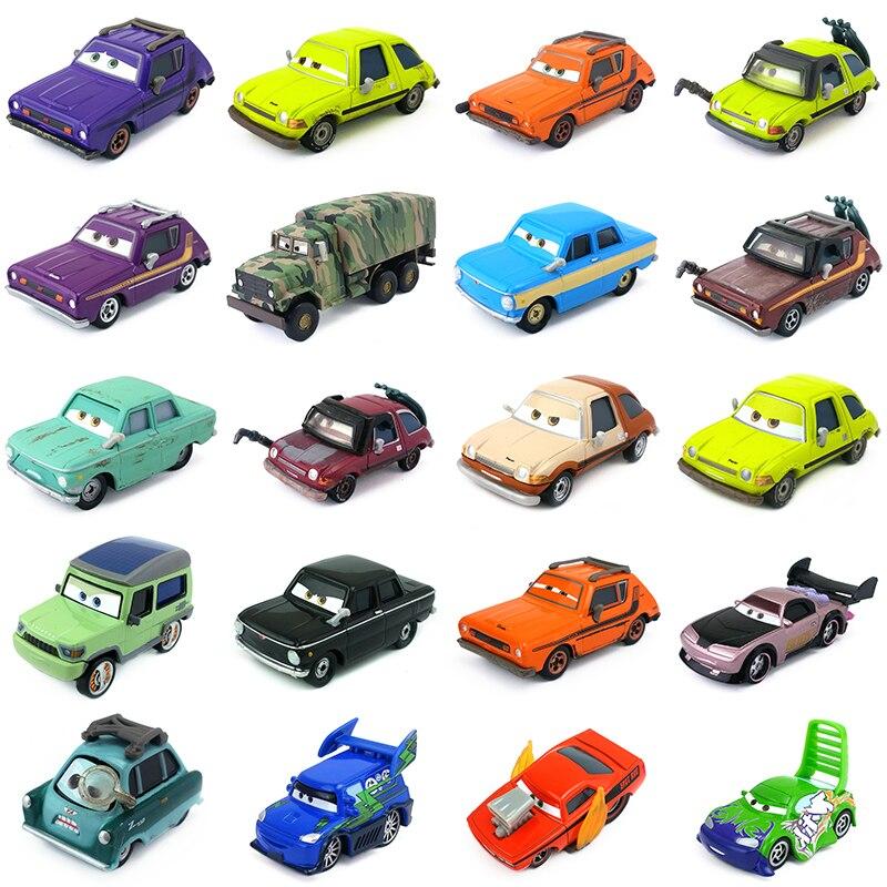 Модели автомобилей из металлического сплава Disney Pixar «Тачки 2», grm, профессор Z, Майлз, Энди, Acer, джиго, Boost 1:55, игрушечные автомобили, подарок для...
