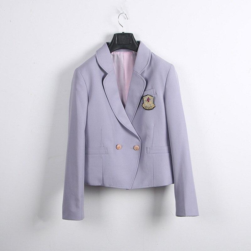 Japanese Korea School Uniforms Suit Coat Students School Dress Coat Adult Women JK Uniform Sailor Suit Jacket Anime Form Suits