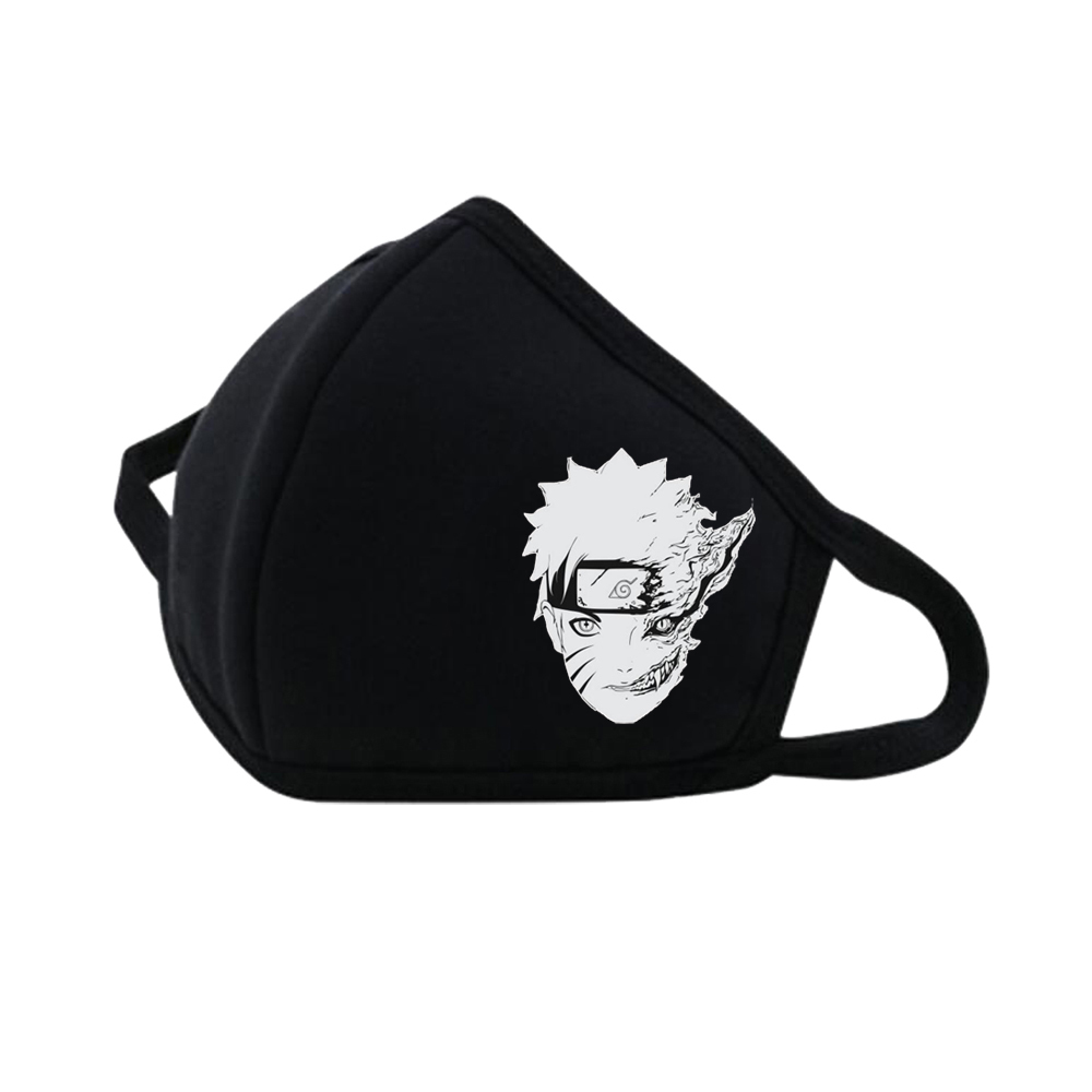 Anime Naruto Mouth Face Mask Dustproof Breathable Fashion Accessories  Camouflage Mouth-muffle Respirator